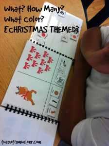 The Autism Helper - Christmas Book