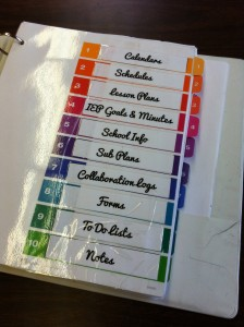 Using Binders To Stay Organized The Autism Helper