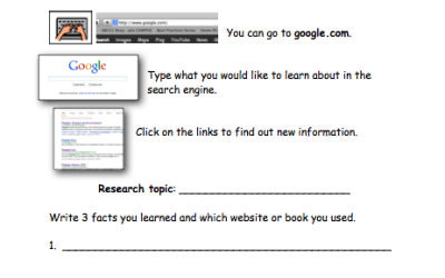 Research Worksheets