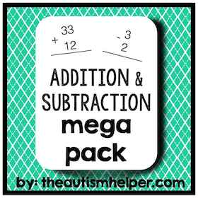 Addition & Subtraction Mega Pack