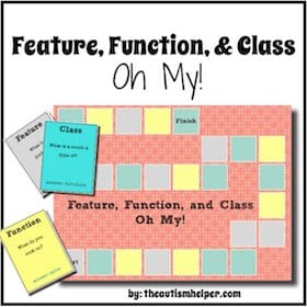 Feature, Function, and Class – Oh My!