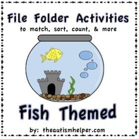 Fish File Folder Activities