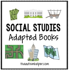 Social Studies Adapted Books