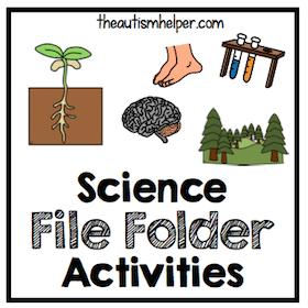 Science File Folder Activities