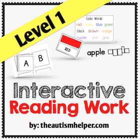Interactive Reading Work {Level 1}
