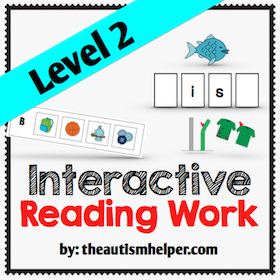 Interactive Reading Work {Level 2}