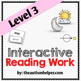 Interactive Reading Work {Level 3}