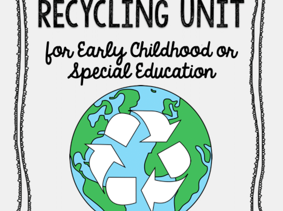 Earth Day Must Have: Recycling Unit
