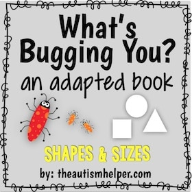 What's Bugging You? Shapes & Sizes