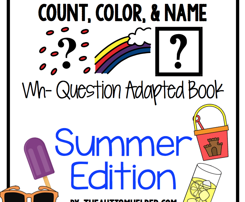 Count, Color, & Name {Summer Edition}