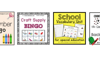 Back to School Themed Curriculum