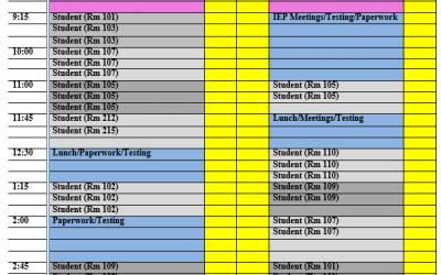 Scheduling Tips!