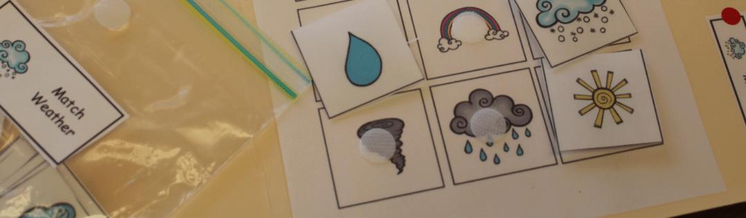 Weather & Season Themed File Folder Activities