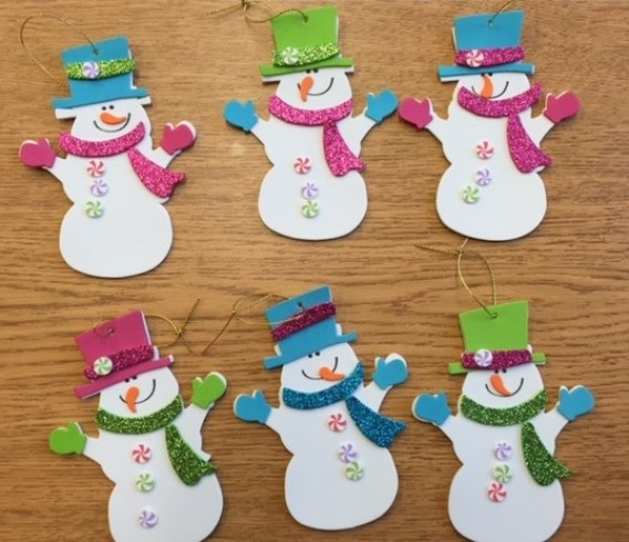 Finished Snowmen Craft