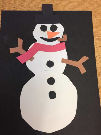 Finished Snowman Craft 2