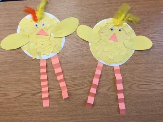 Finished Chicks