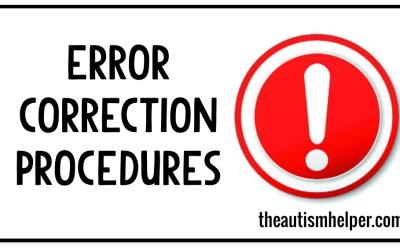 Error Correction Procedures