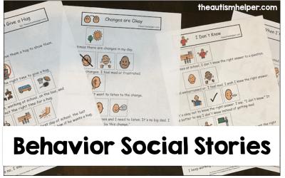 Behavior Social Stories