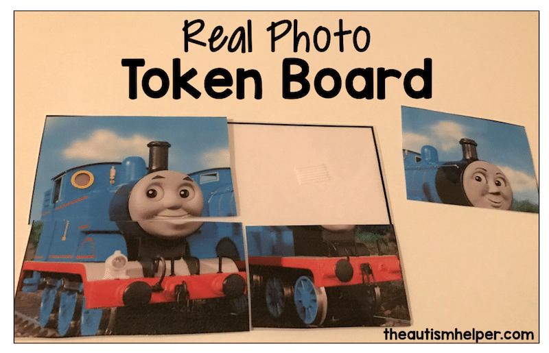 Real Photo Token Board