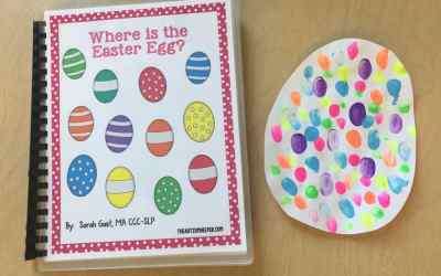 Where is the Easter Egg? and Easter Egg Craft