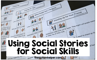 How to Use Social Stories to Target Social Skills