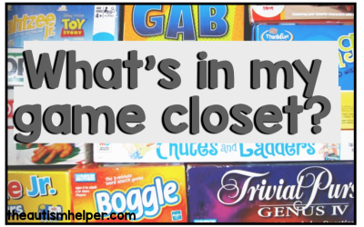 My Game Closet: What's Inside?
