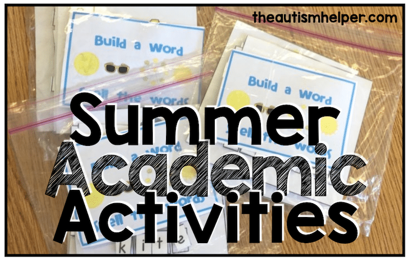 Summer Academic Activities