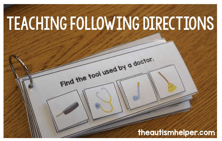 Teaching Following Directions