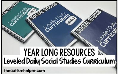 Social Studies Leveled Daily Curriculum