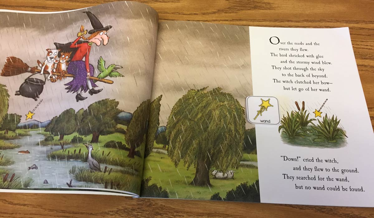 Room on the Broom with Free Book Companion! - The Autism Helper