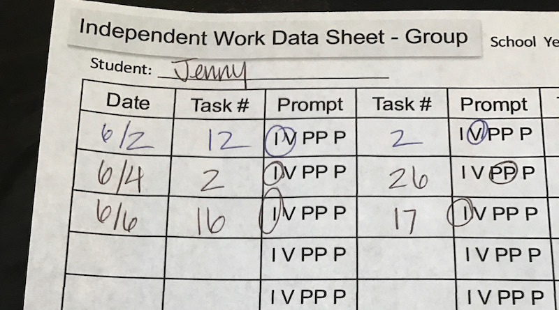 Data Sheets Every Special Ed Teacher Needs
