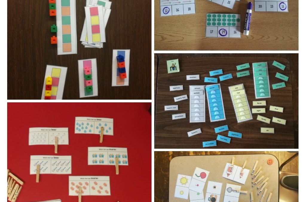 Focus on Five: My Five Favorite Tasks from the {Math} Work Task MEGA Pack!