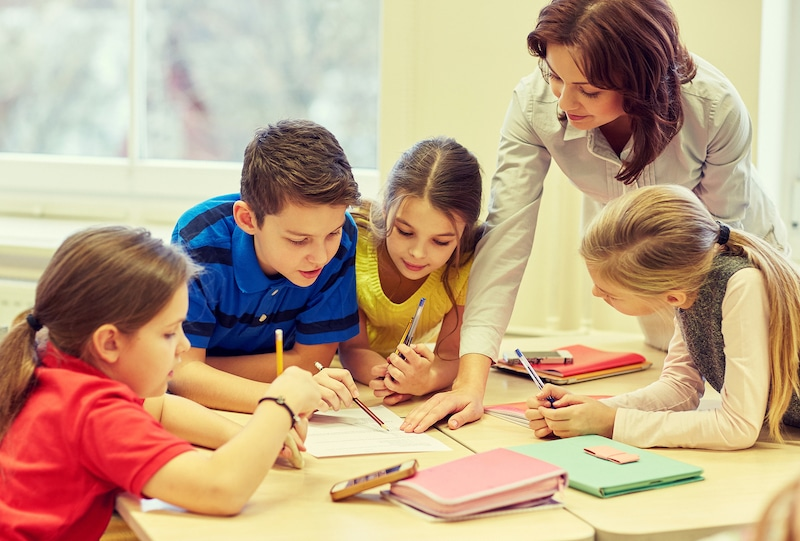 Guided Reading Groups in a Special Ed Classroom
