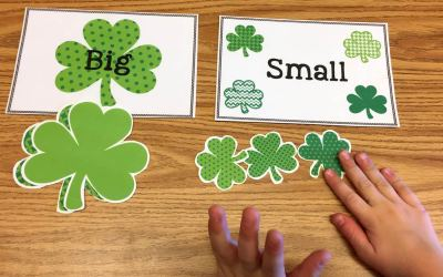 Free Big/Small Shamrock Sort!