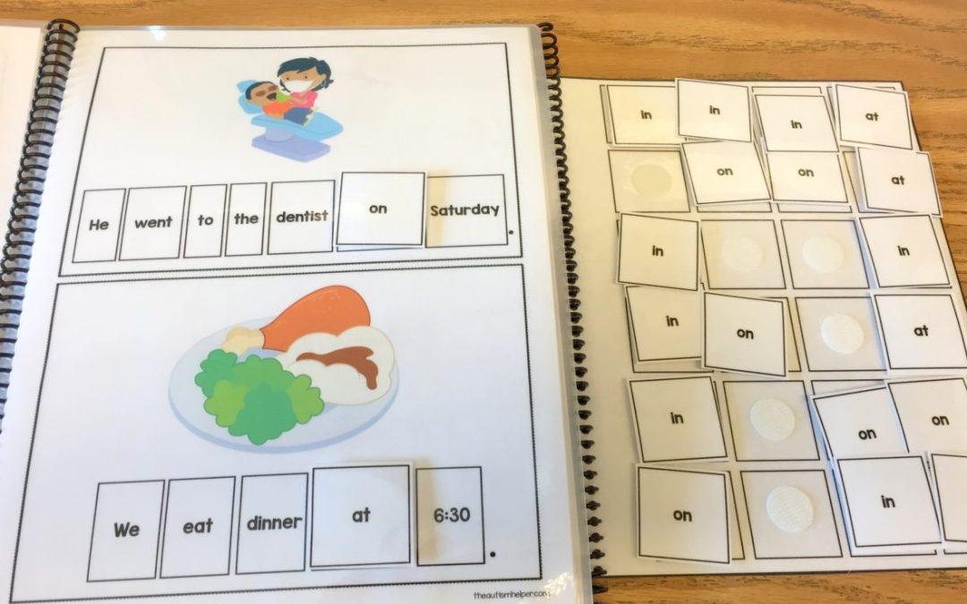 Teaching Prepositions through Adapted Books