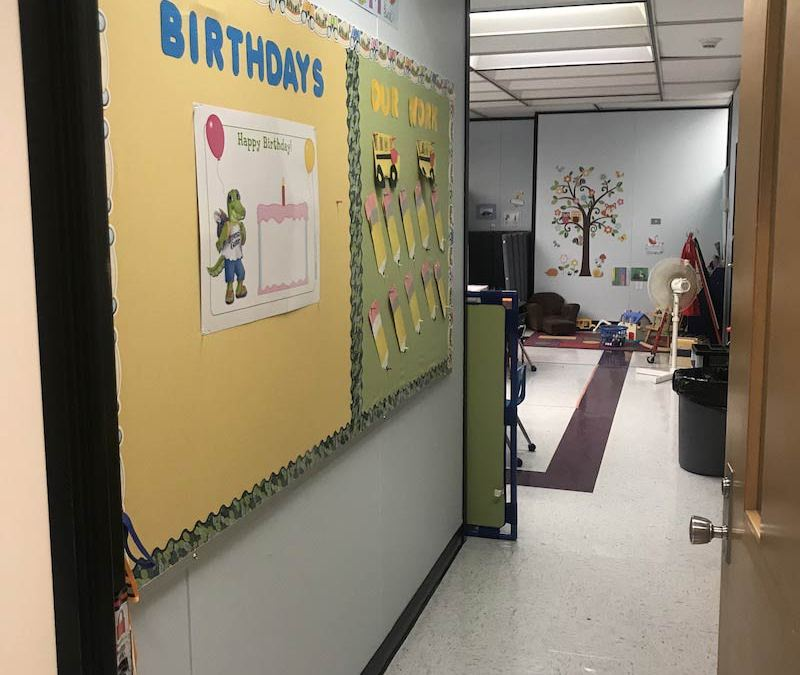Faculty Lounge Flip: From Lounge to a Pre-K 3 Classroom
