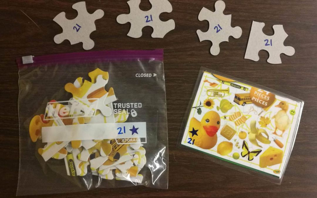 Focus on Five: How to Organize Puzzles in the Classroom