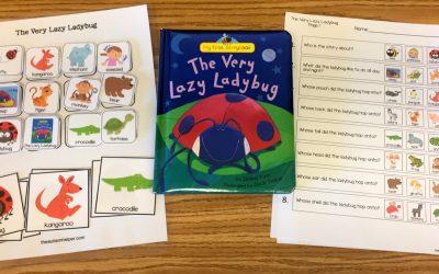 The Very Lazy Ladybug with Free Book Companion