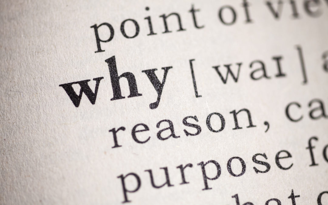 Identifying my WHY