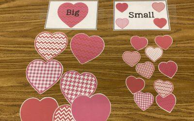 Free Valentine Recipe, Craft, and Sort