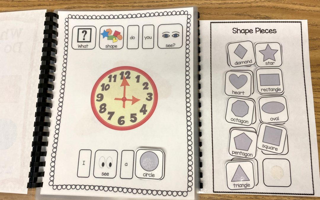 What Shape Do You See? Adapted Book and Free Shape Activity