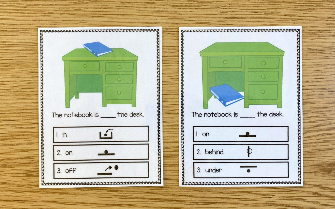 Preposition Boards