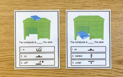 Preposition Boards