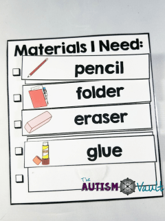 Executive functioning is an area that many of our students with autism may struggle with.  Read more about how I use a special set of visuals to help my students manage and execute academic tasks in my self-contained classroom.
