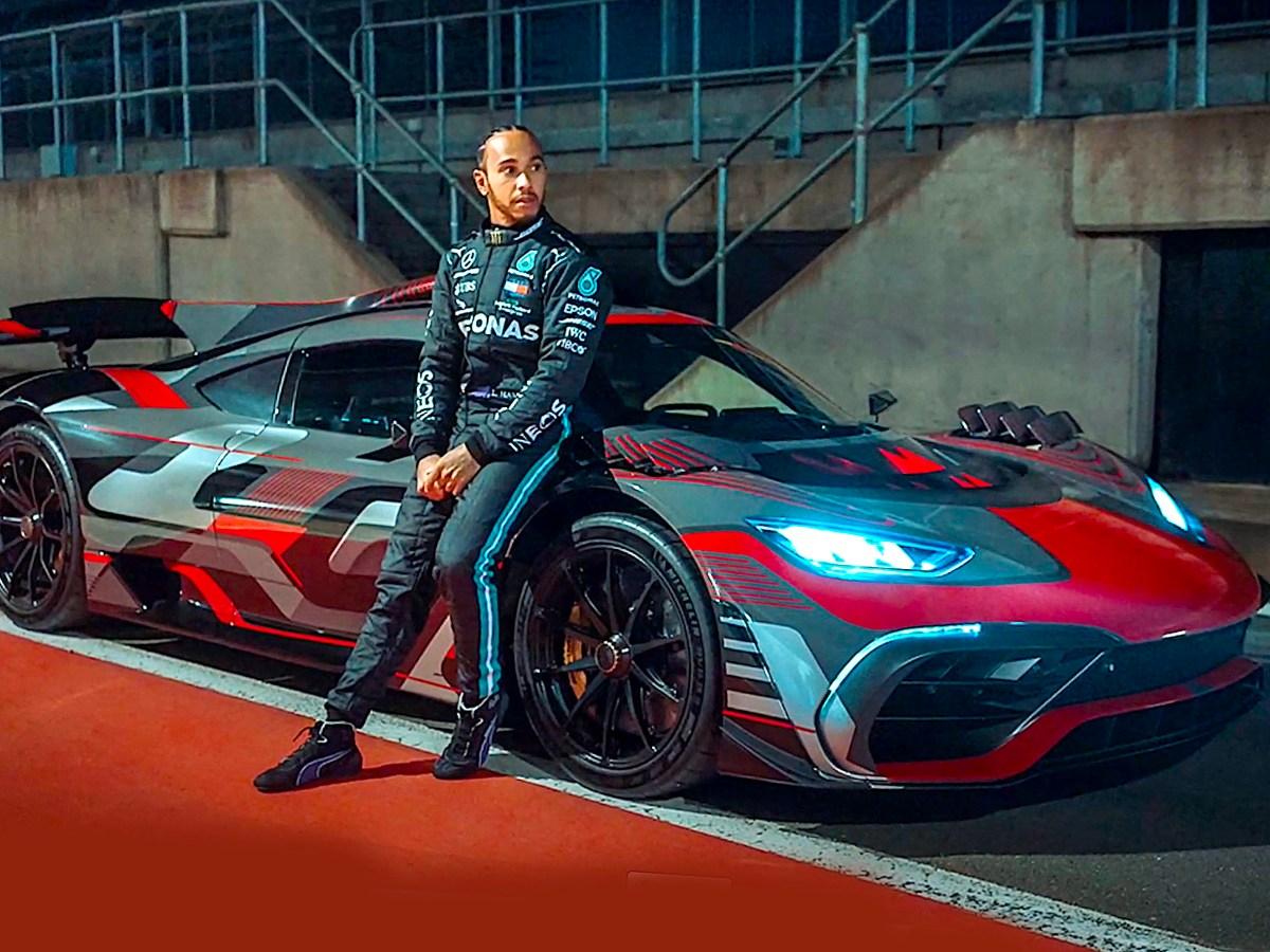 Lewis Hamilton Mercedes-AMG One