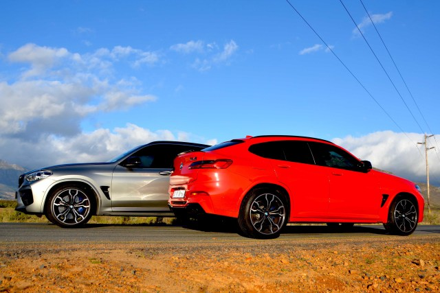 BMW X3 M & X4 M Competition
