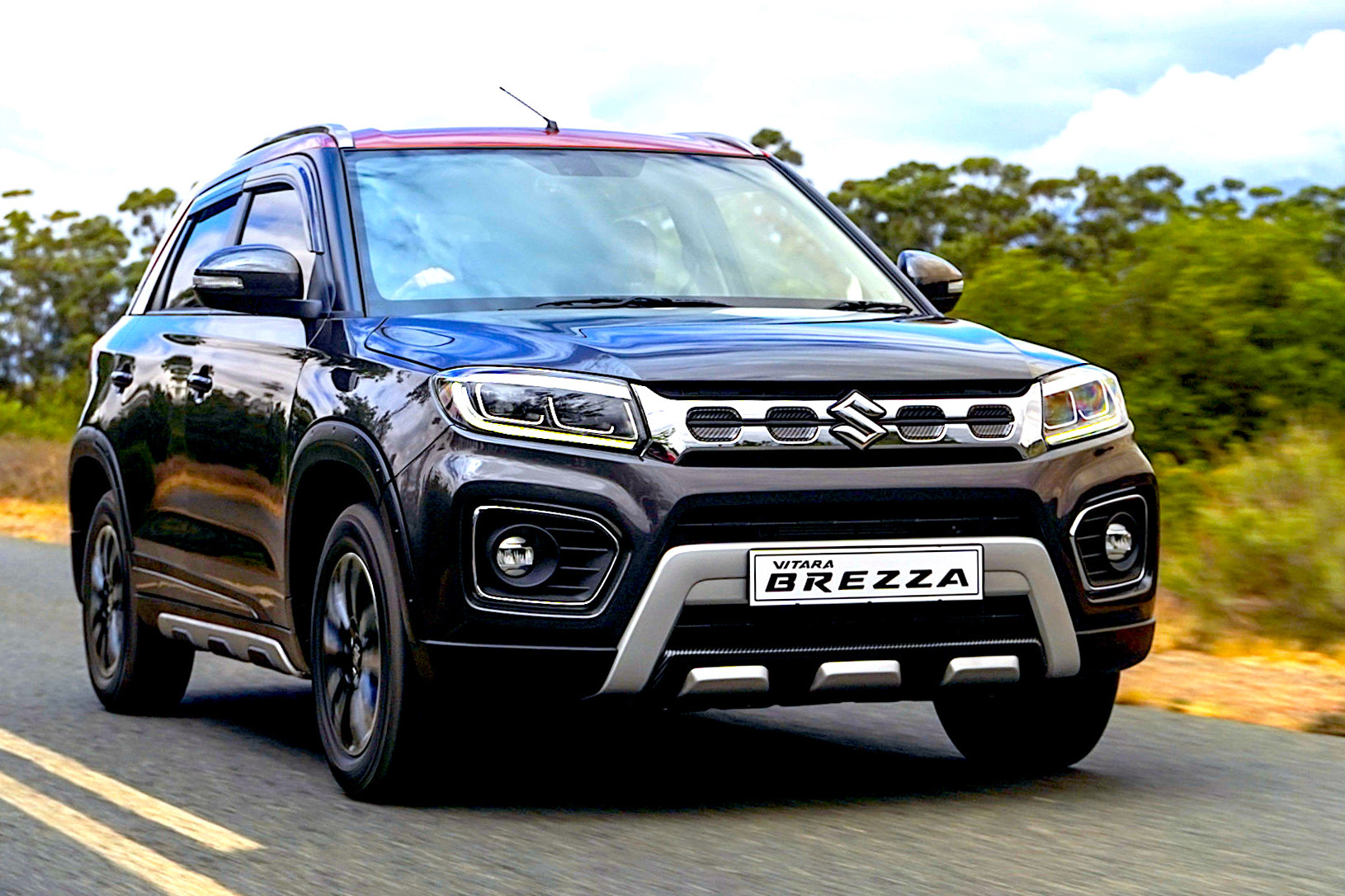 AND ANOTHER NEW SUZUKI SUV BREZZAS IN