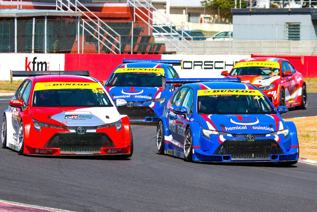 Toyotas lead GTC
