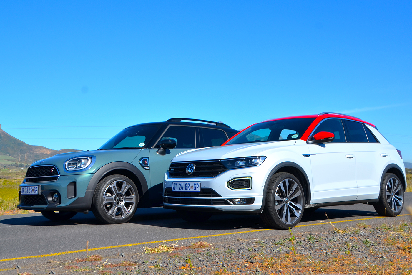 ALL GROWN UP – WE PIT NEW T-ROC AGAINST COUNTRYMAN COOPER S