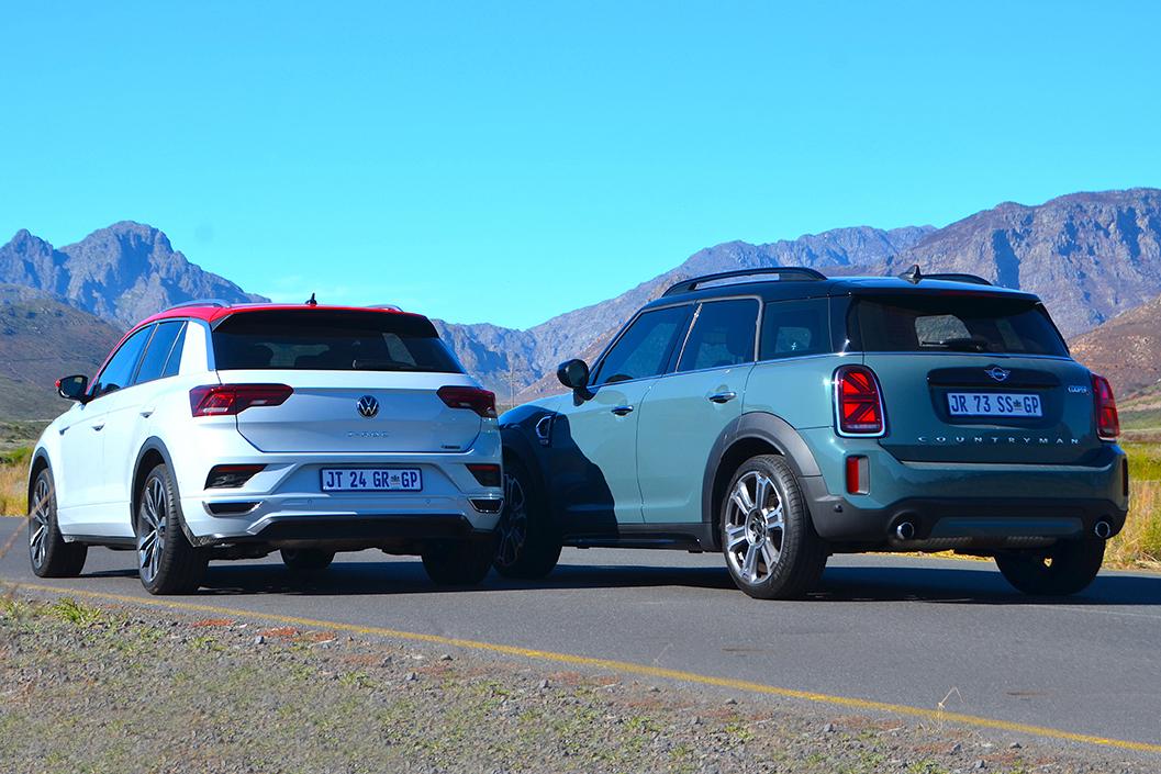 VW T-Roc & Mini Countryman S